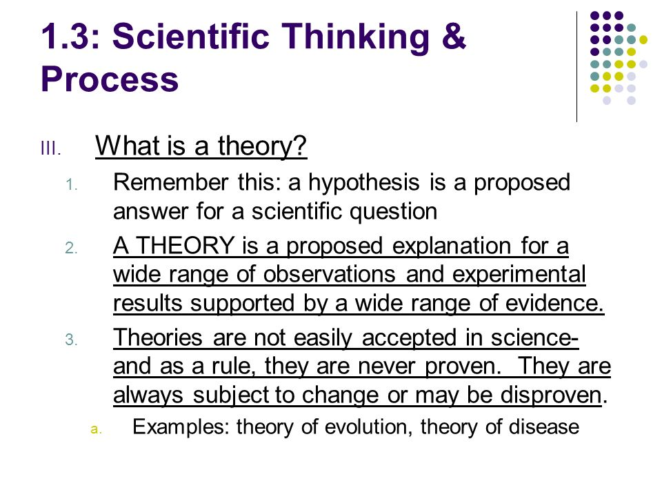 scientific thinking The first lecture in a research methods in psychology course taught spring 2012 at linfield college.