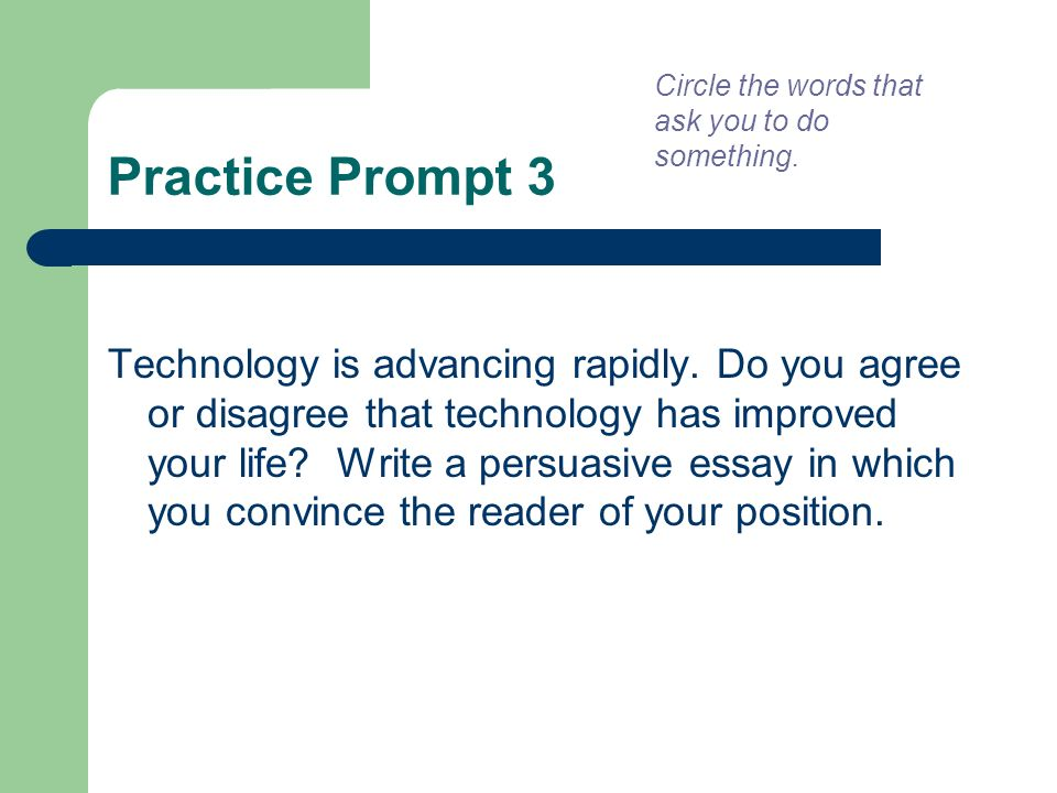 attacking the writing prompt ppt 9 circle