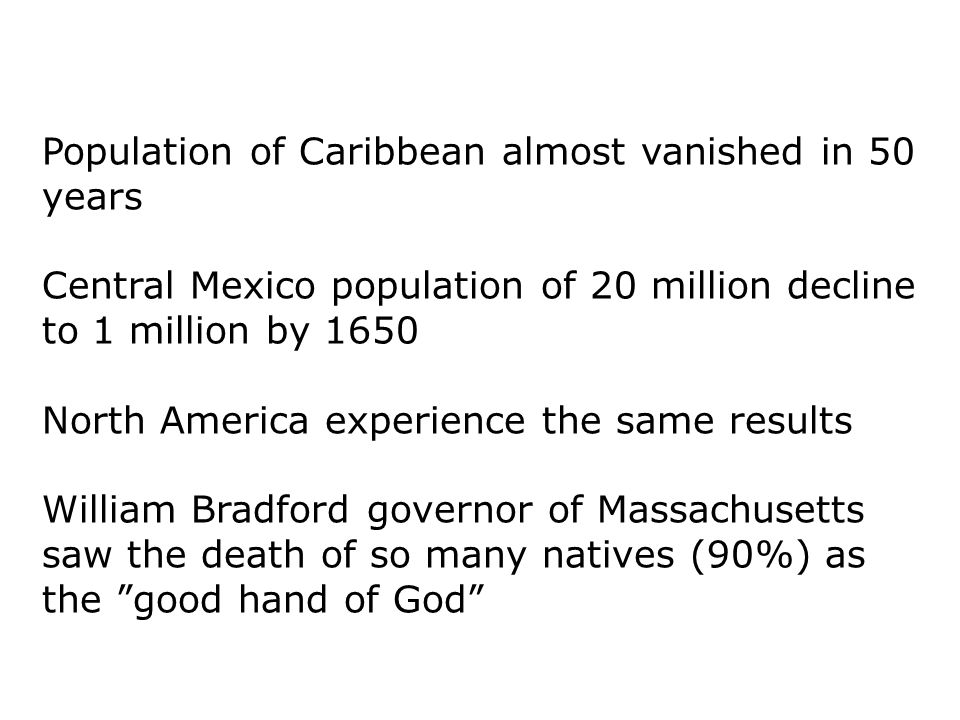Population of Caribbean almost vanished in 50 years