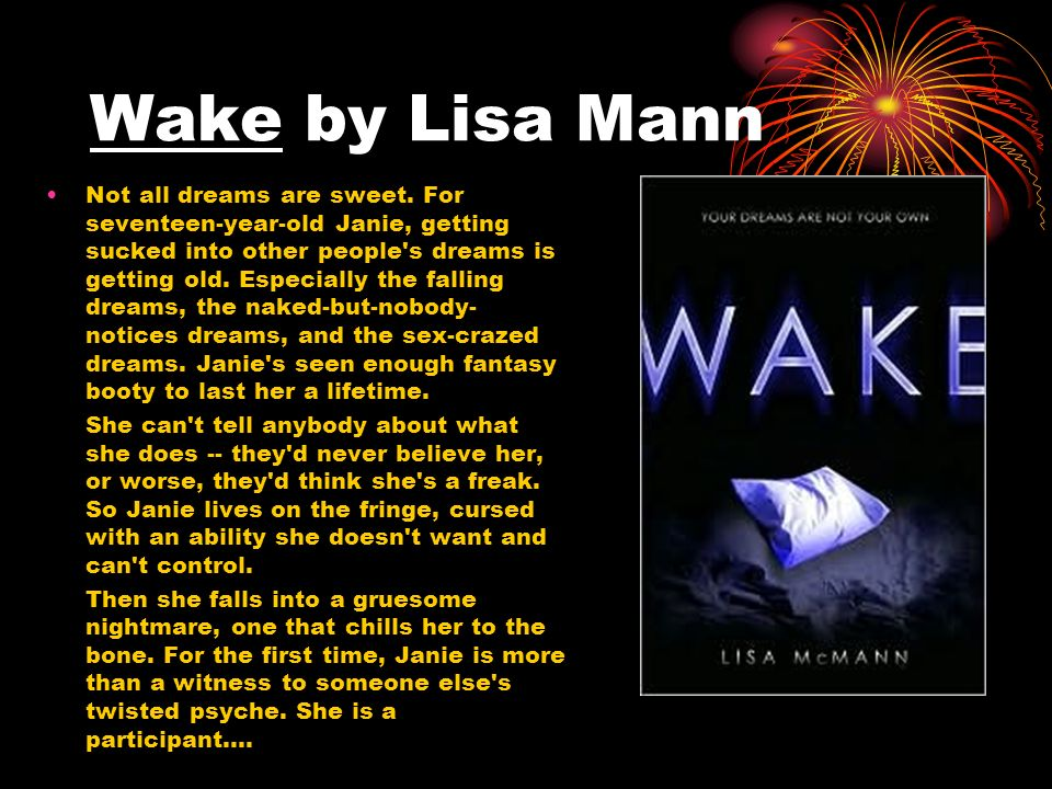 Wake by Lisa Mann