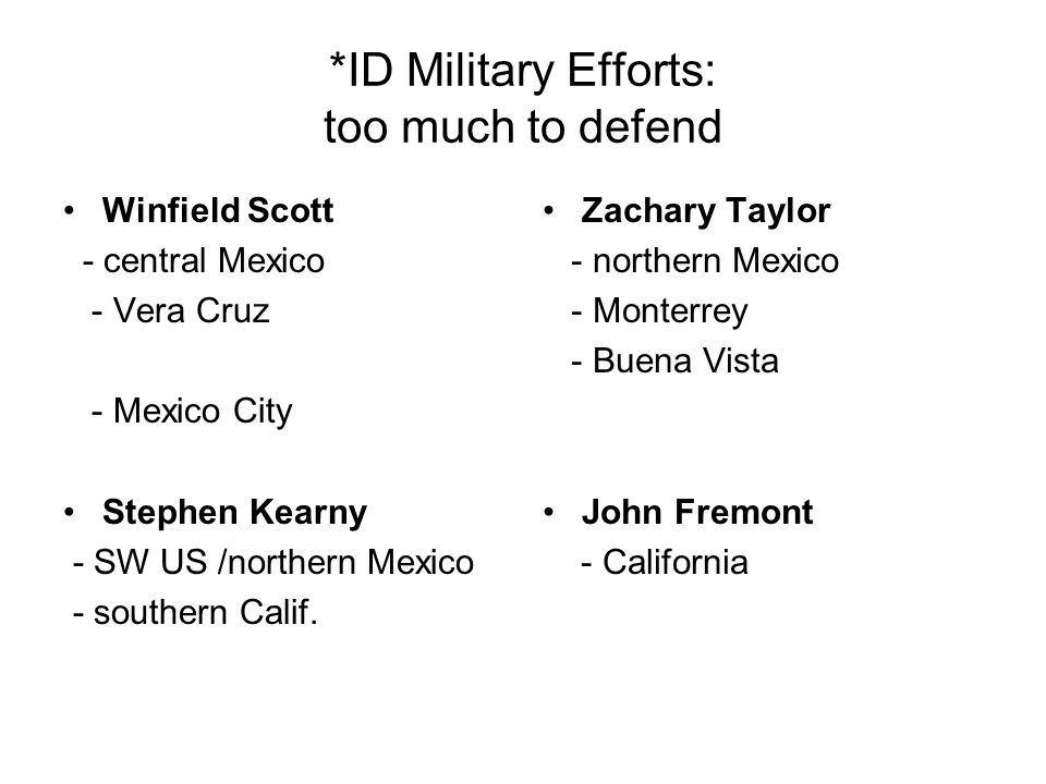 *ID Military Efforts: too much to defend