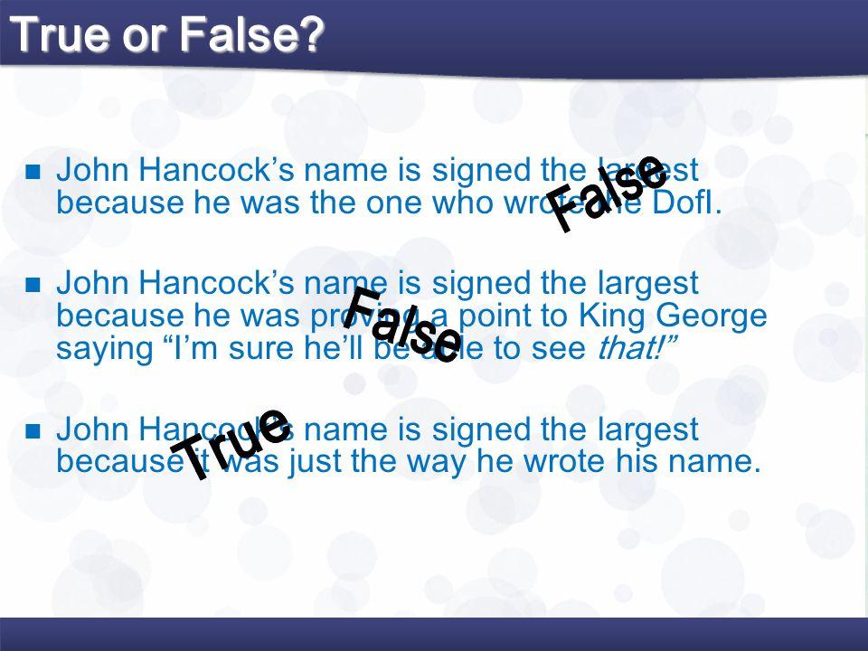 True or False False False True