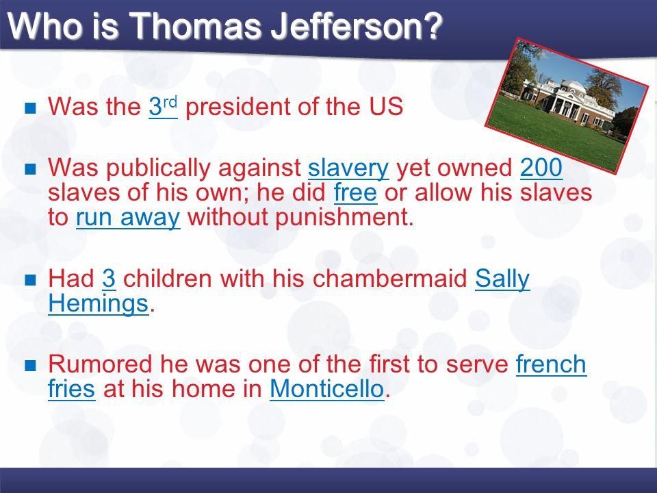 Who is Thomas Jefferson