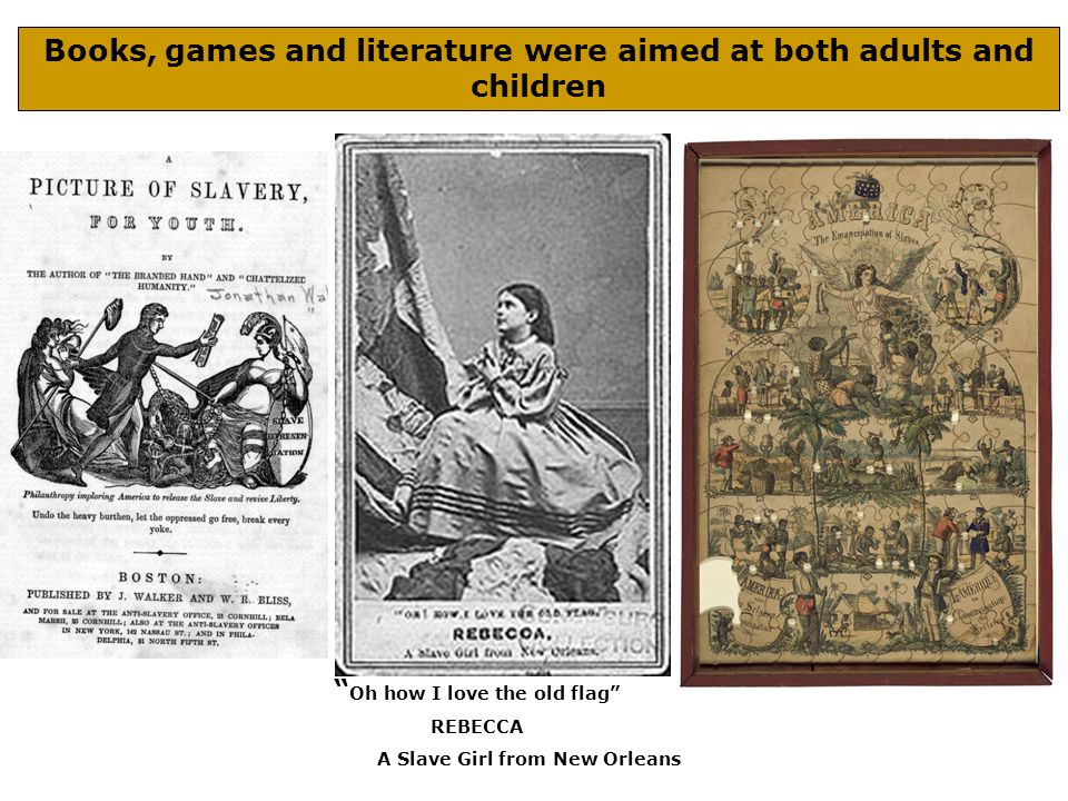 Books, games and literature were aimed at both adults and children