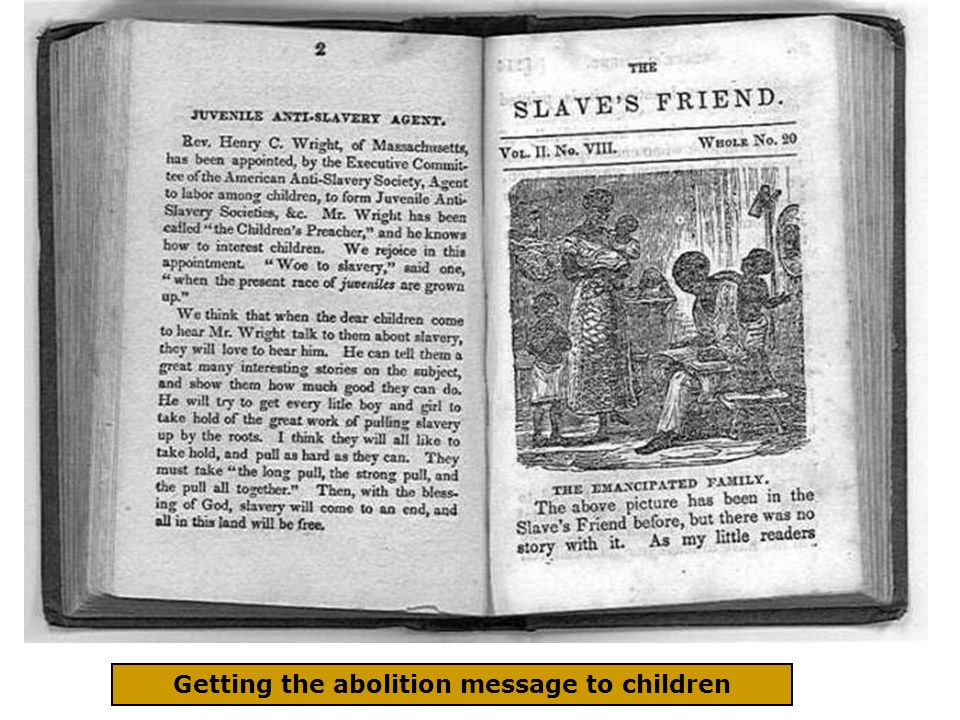 Getting the abolition message to children