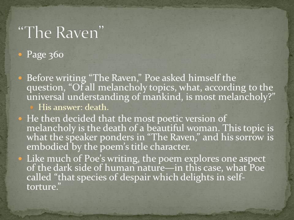 The Raven Page 360.
