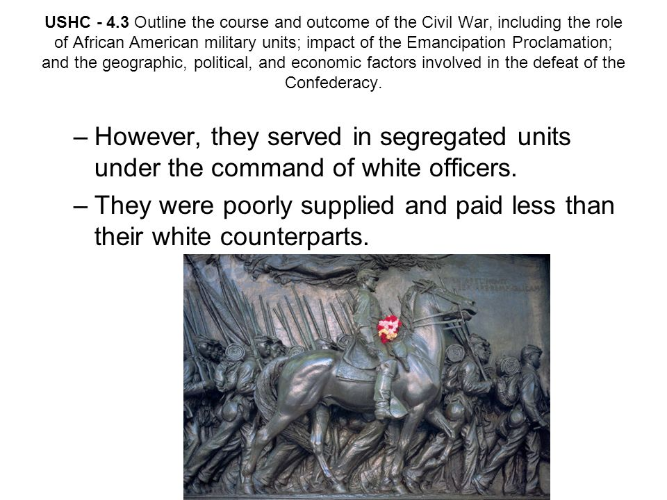 They were poorly supplied and paid less than their white counterparts.