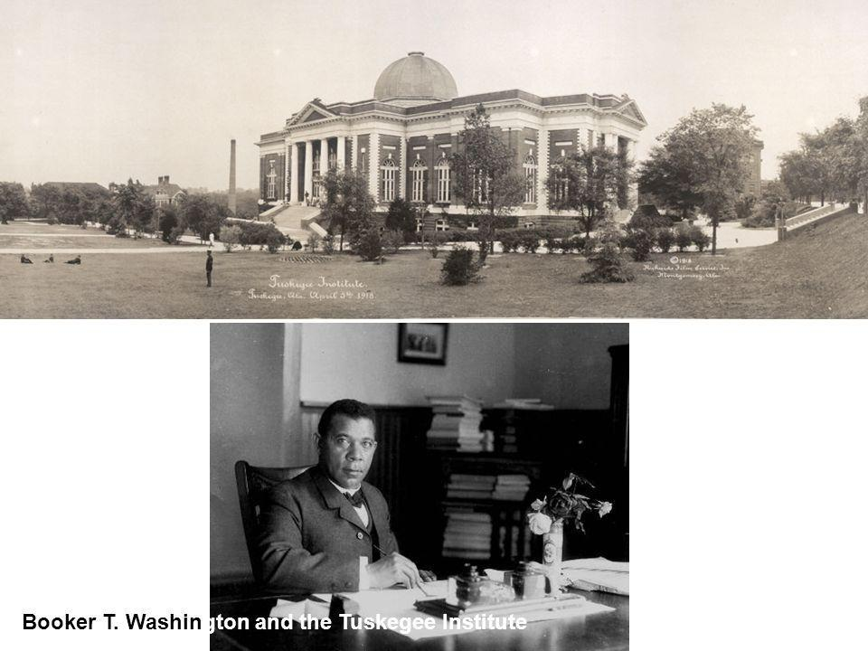 Booker T. Washington and the Tuskegee Institute