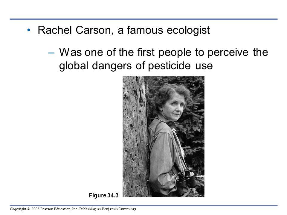 Rachel Carson, a famous ecologist