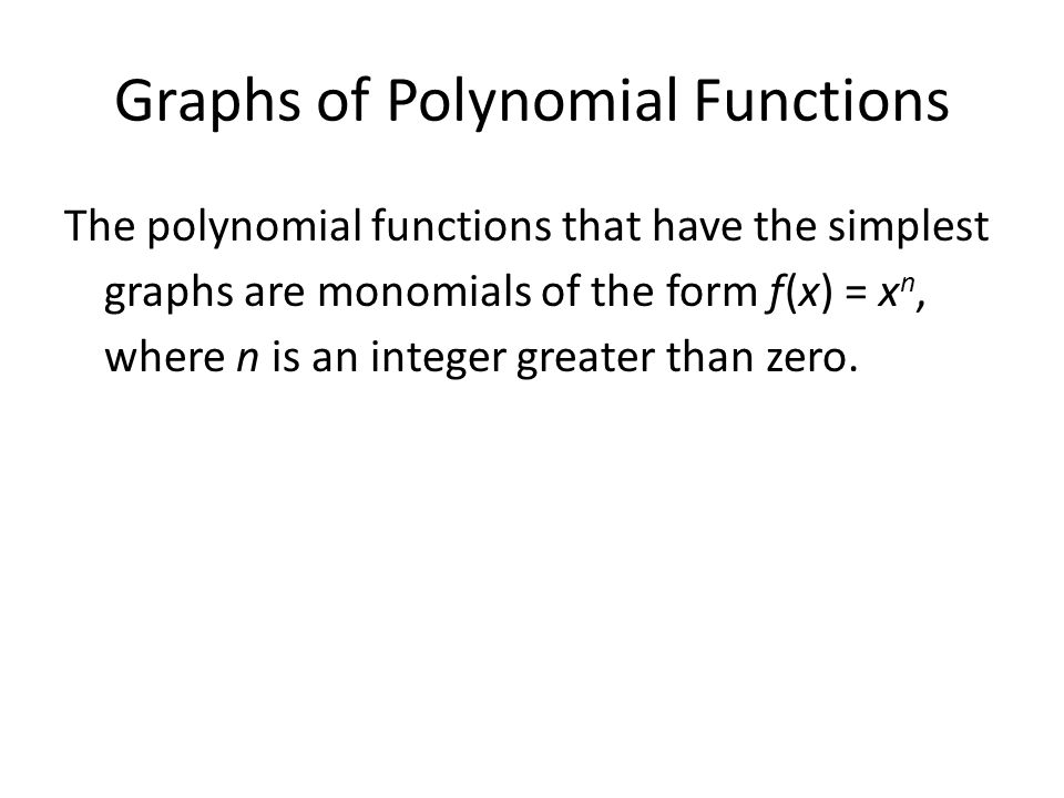 Write the equation for transformation of ppt download – Polynomial Functions Worksheet