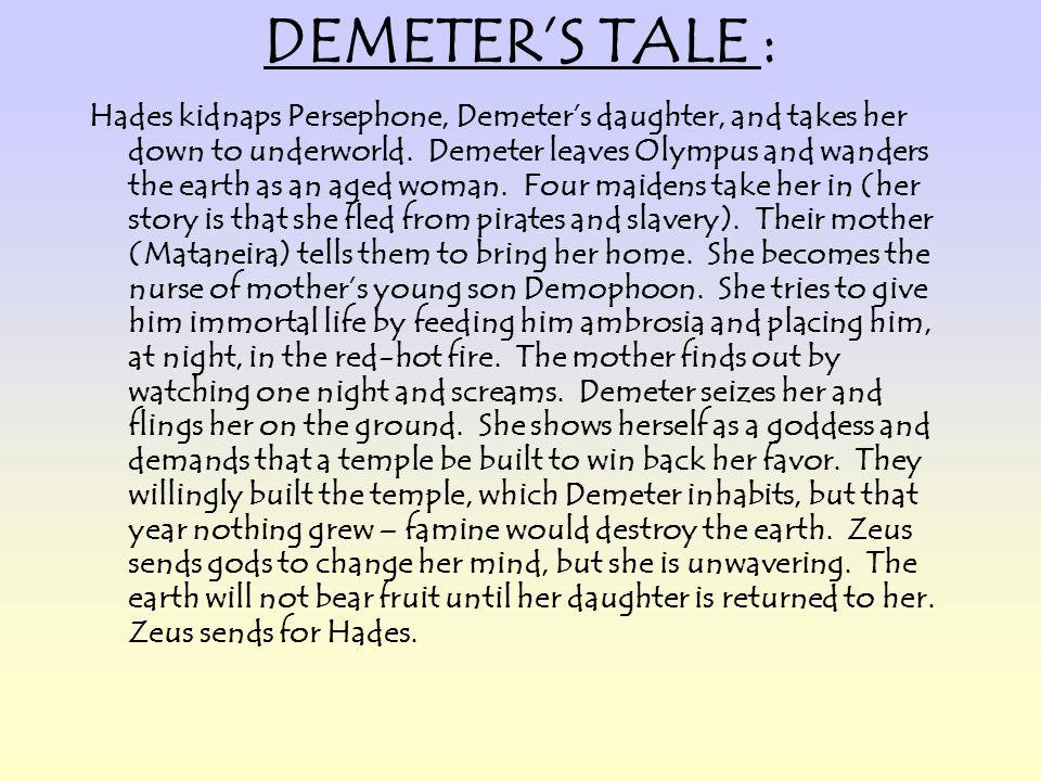 DEMETER'S TALE :