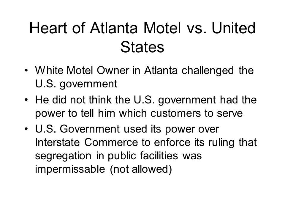 Heart of Atlanta Motel vs. United States