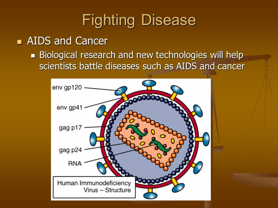 Fighting Disease AIDS and Cancer