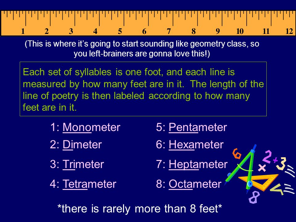 *there is rarely more than 8 feet*