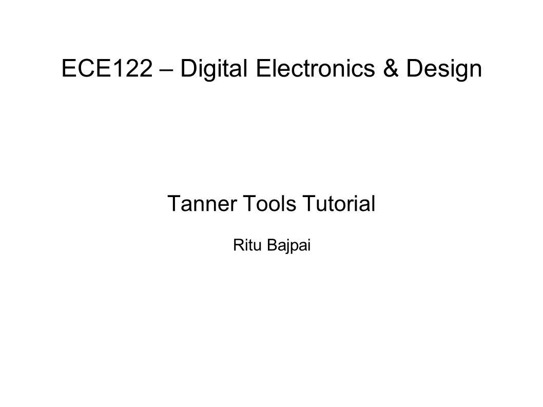 Ece122 Digital Electronics Design Ppt Video Online Download Electronic Circuit Simulator