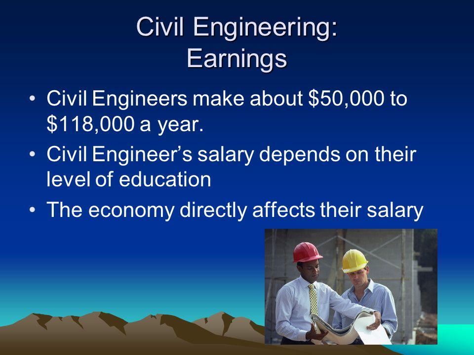 Civil Engineering: Earnings