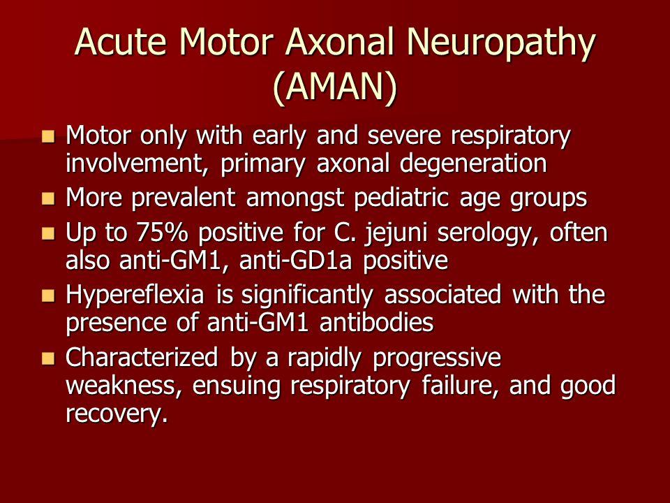 Acute Motor Sensory Axonal Neuropathy