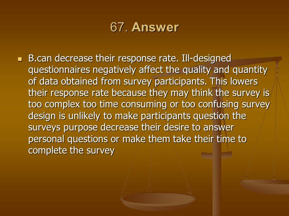 67. Answer