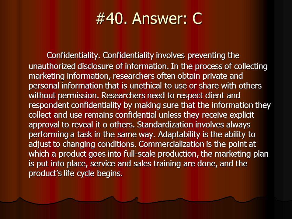 #40. Answer: C
