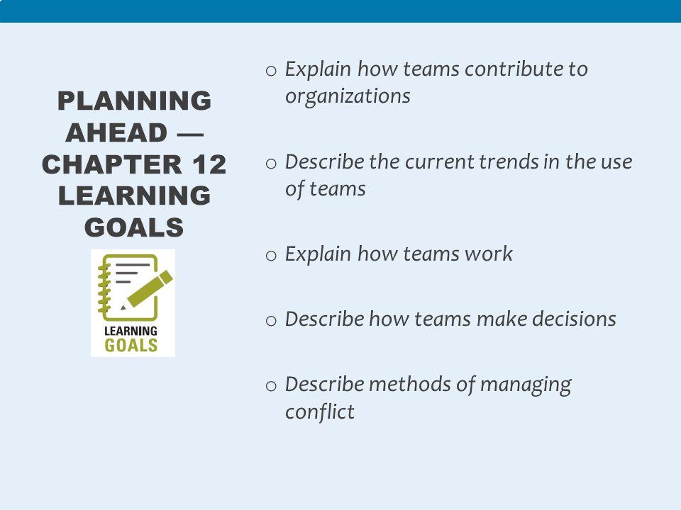 planning ahead essay