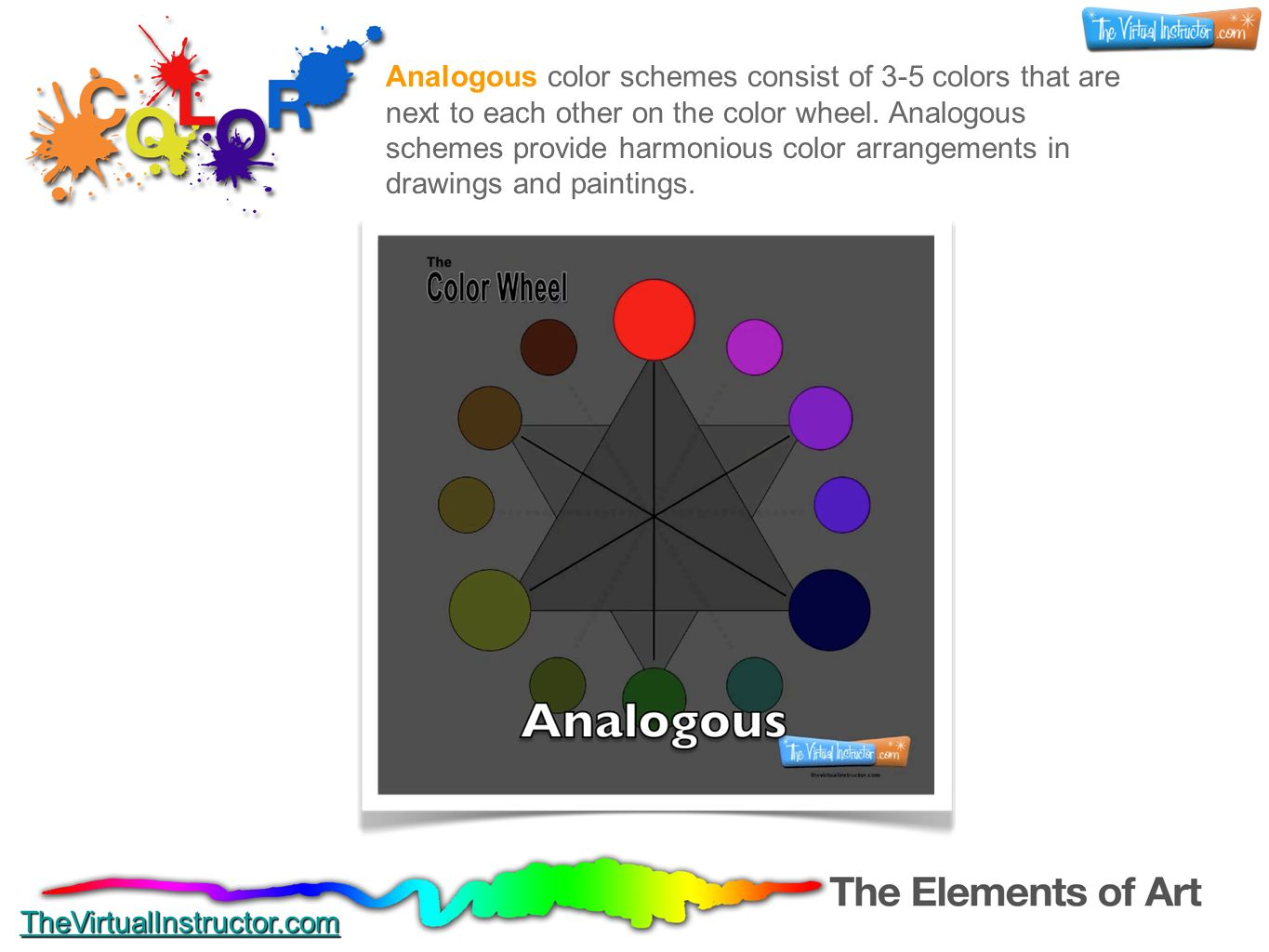 Color The Elements Of Art TheVirtualInstructor