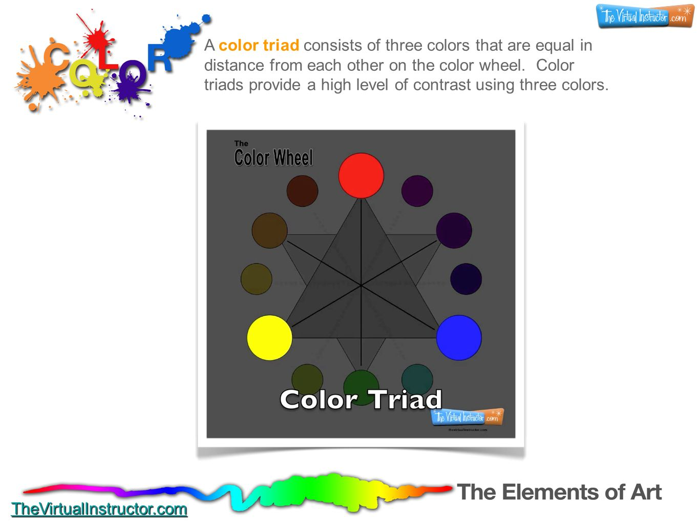 Color The Elements Of Art Thevirtualinstructor Com Ppt Interiors Inside Ideas Interiors design about Everything [magnanprojects.com]