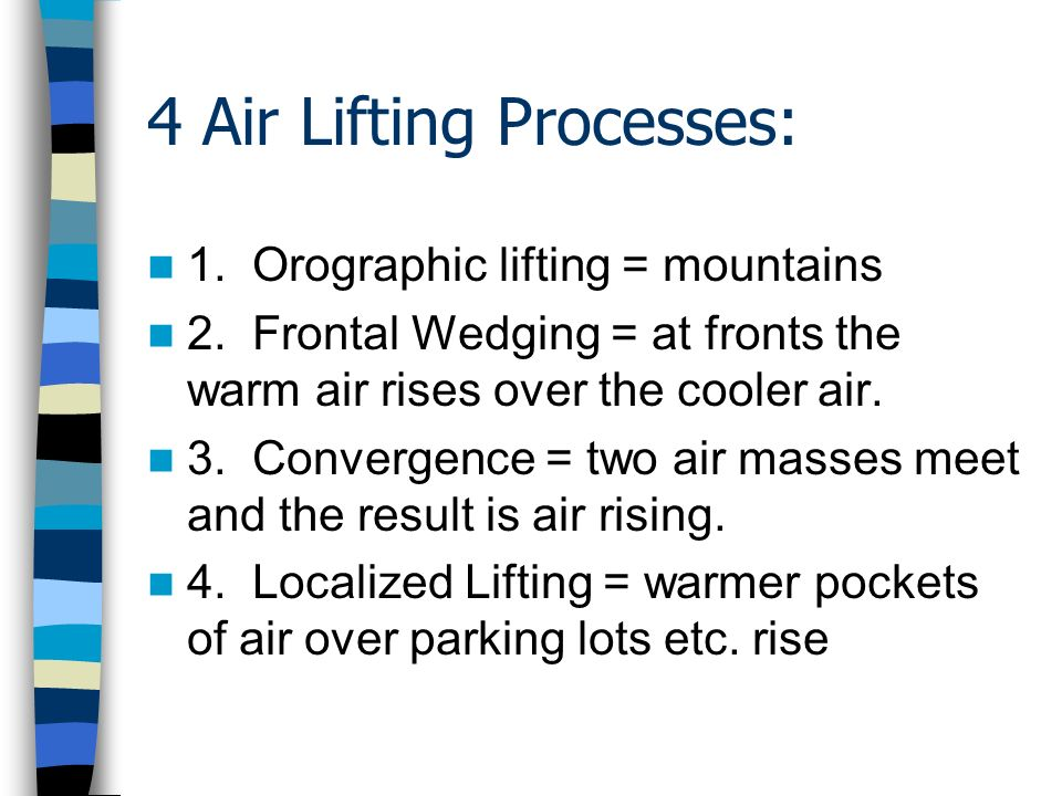 4 Air Lifting Processes:
