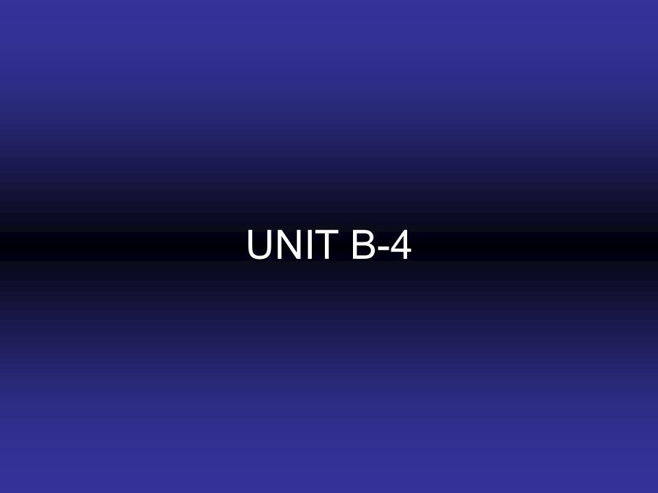 UNIT B-4