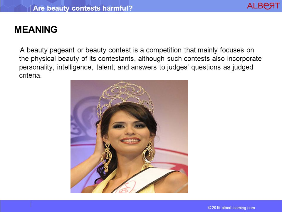 an essay on beauty contest