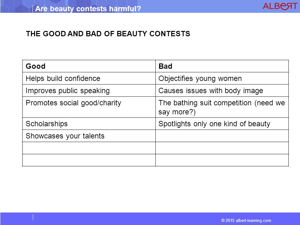 are beauty contests harmful ppt video online  the good and bad of beauty contests