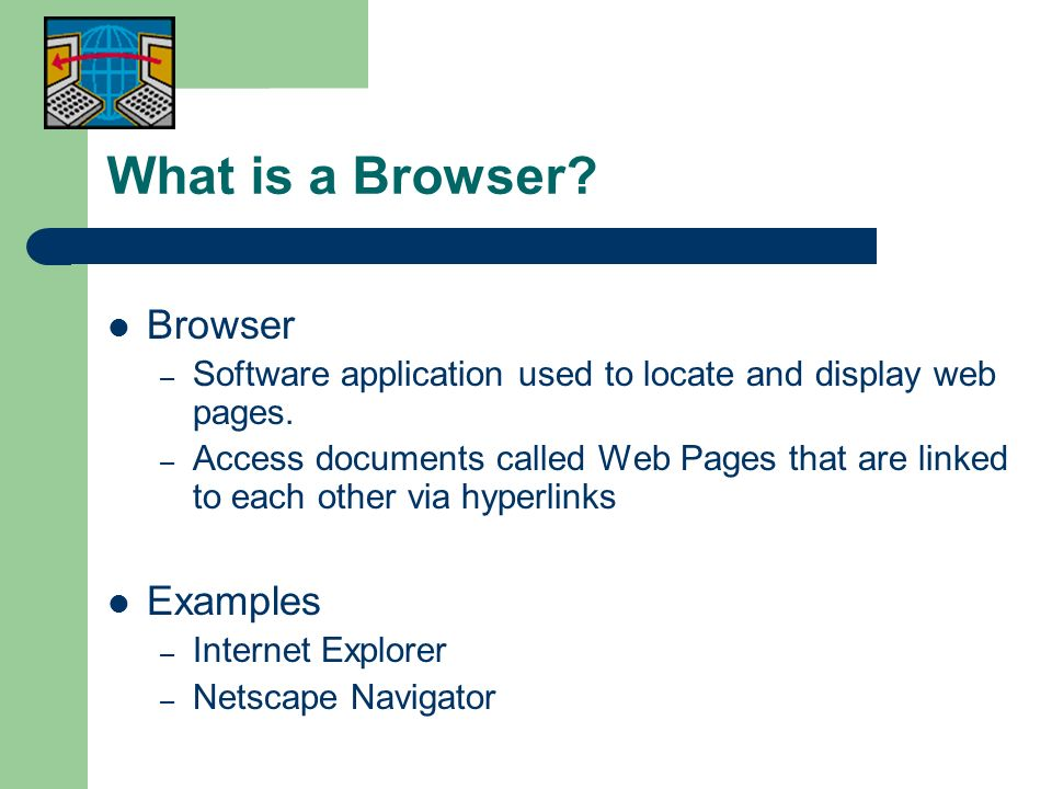 What is a Browser Browser Examples