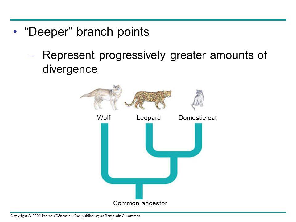 Deeper branch points