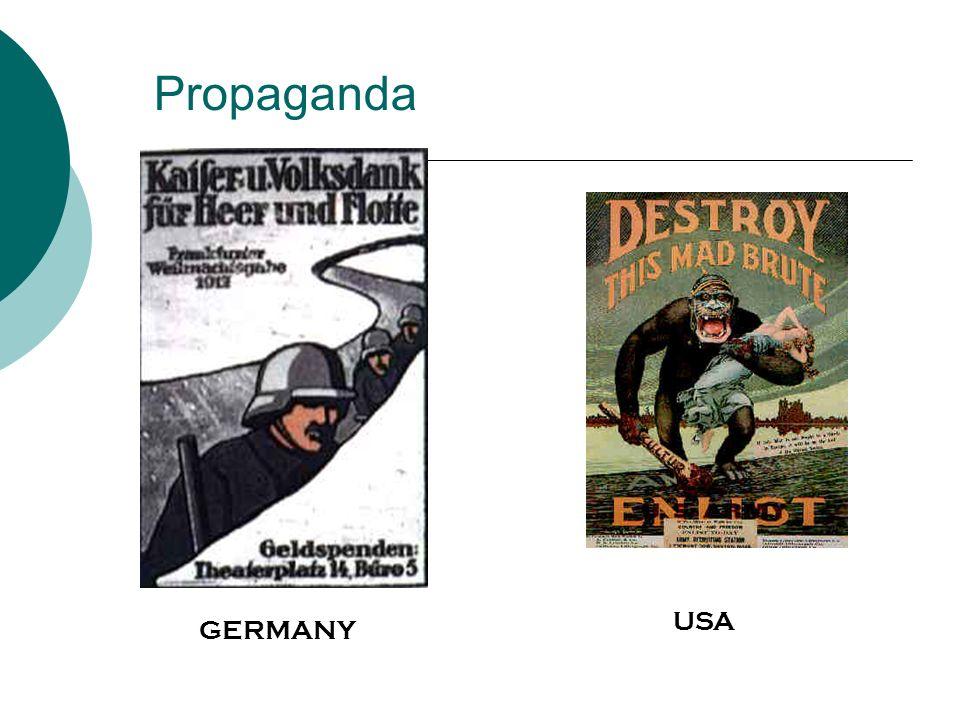 Propaganda USA GERMANY