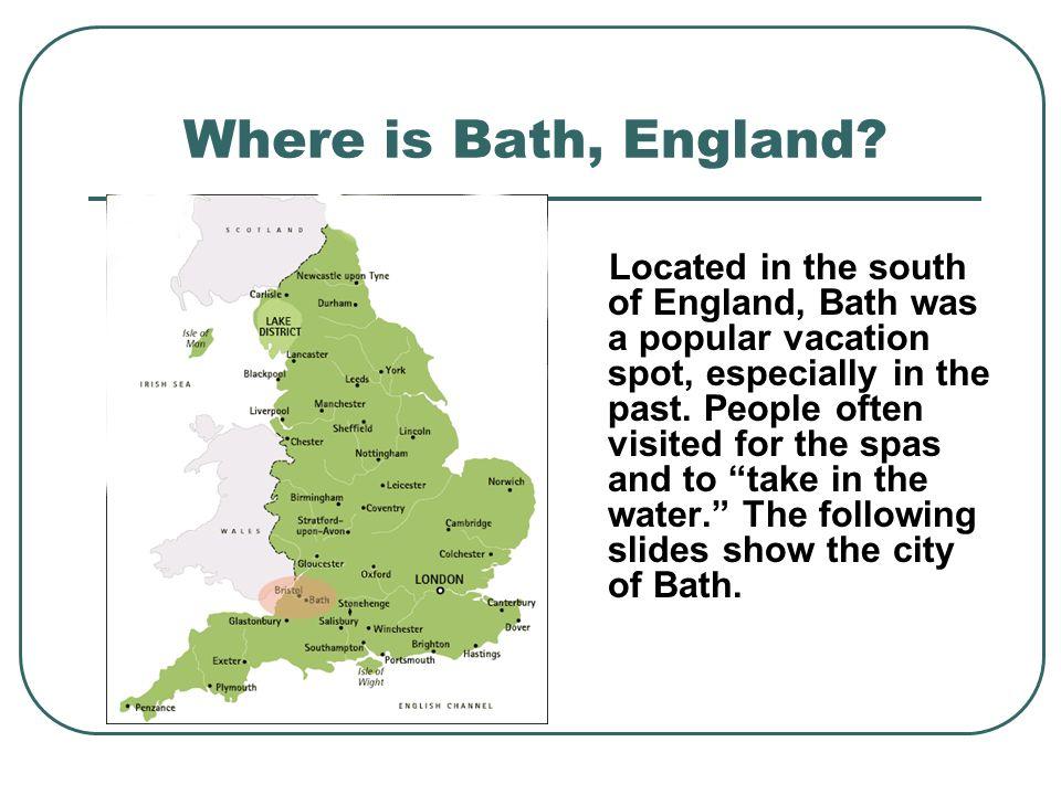 Where is Bath, England