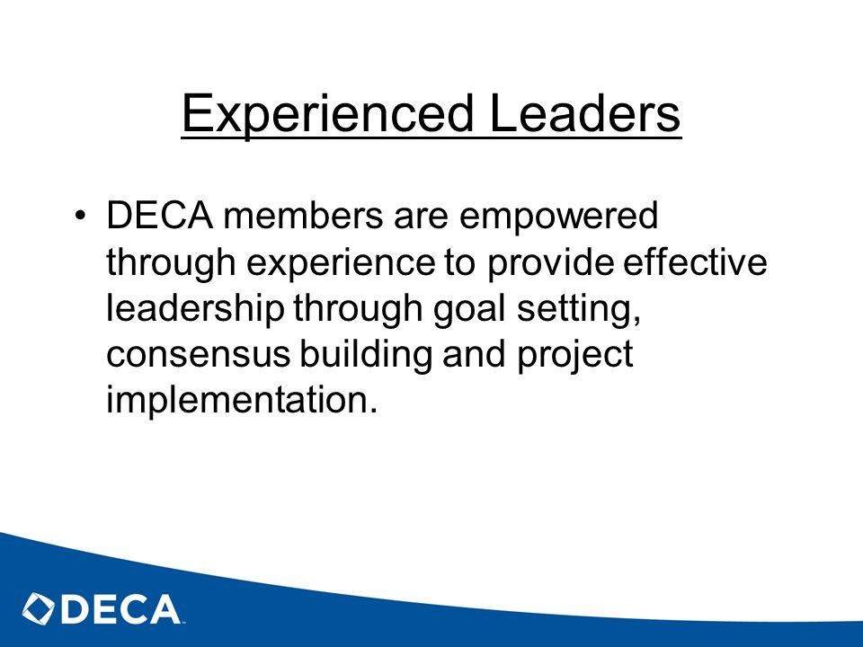 Experienced Leaders