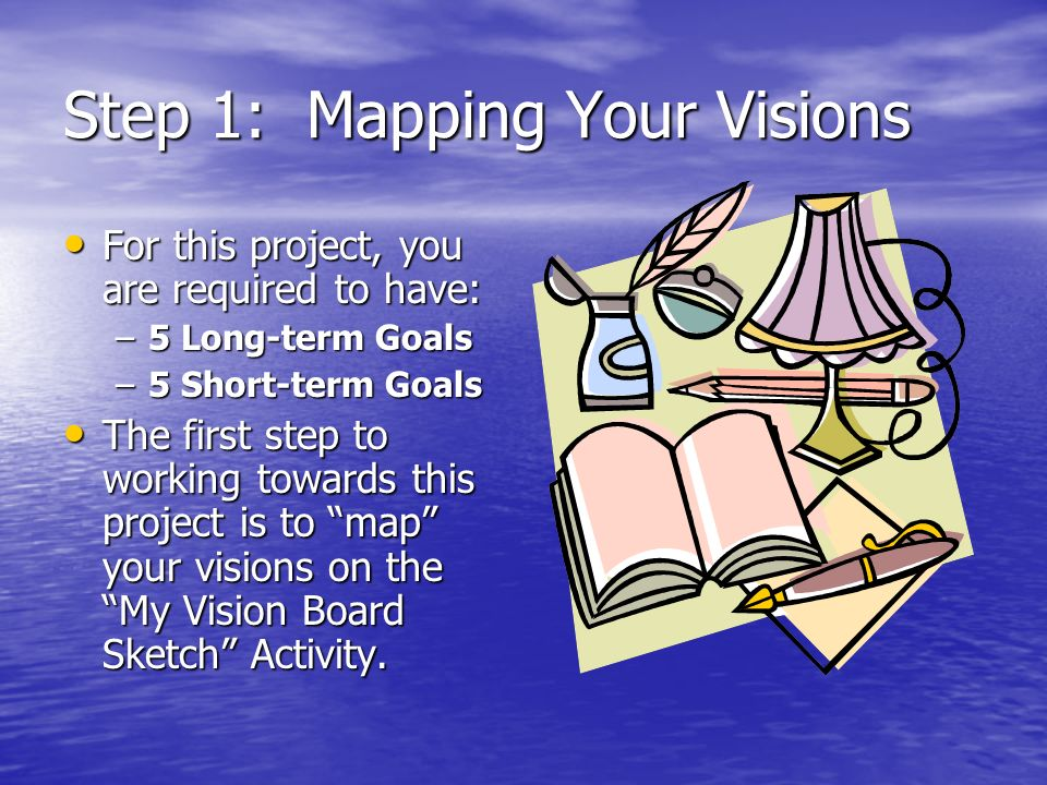 Step 1: Mapping Your Visions