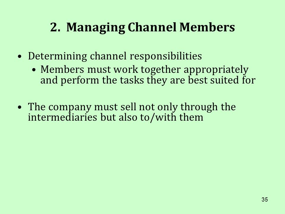 2. Managing Channel Members