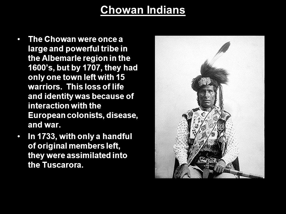 Chowan Indians