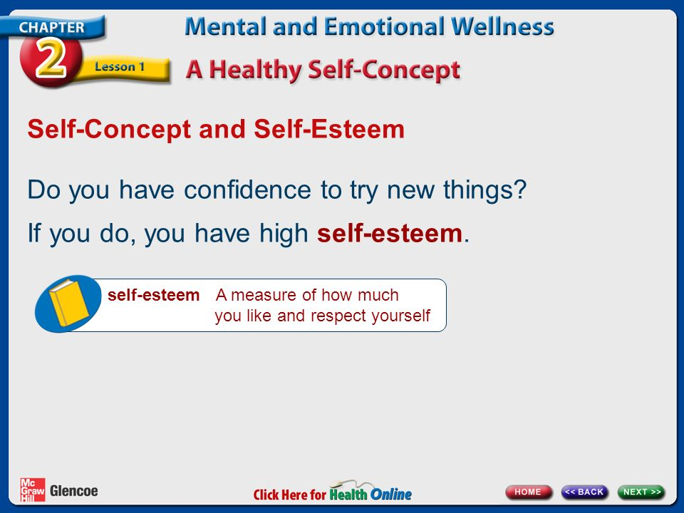 how to build self concept