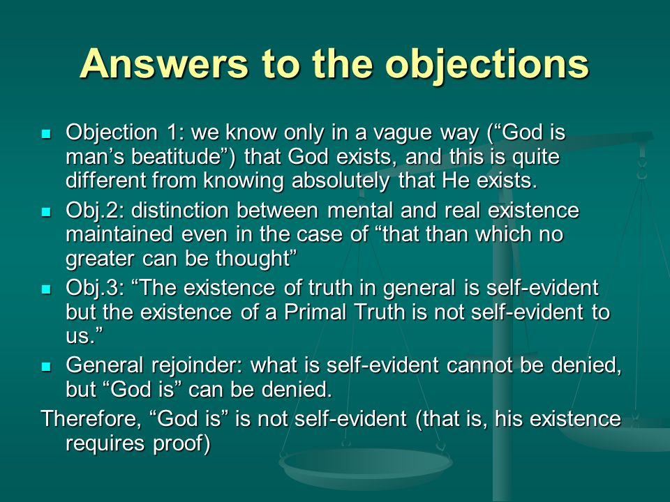 gods existence can be proven a Written by a former atheist, this article gives you six clear reasons to conclude that god exists no arm-twisting concise and straightforward evidence answering the question, 'is there a.