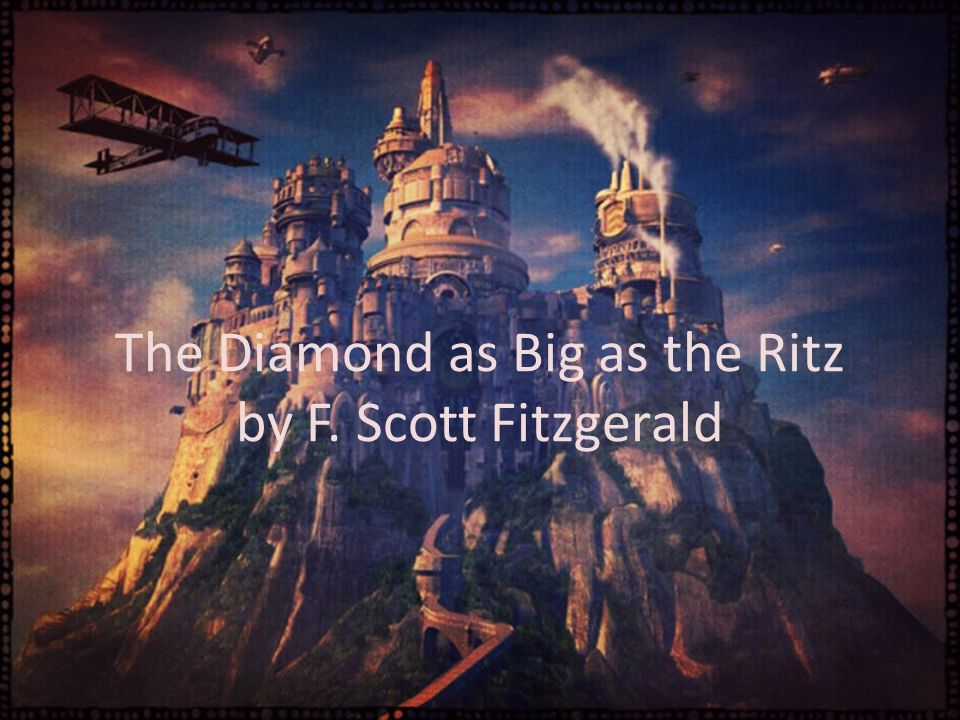 f scott fitzgerald the diamond as Francis scott fitzgerald is on facebook the portable f scott fitzgerald viking, 1945 the diamond as big as the ritz, and other stories.