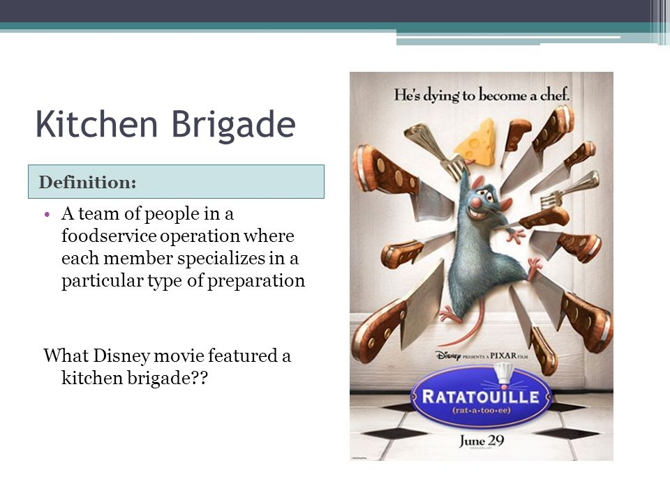 kitchen brigade A powerpoint and supporting worksheet on the kitchen brigade and other roles  within the industry for teaching wjec catering gcse.