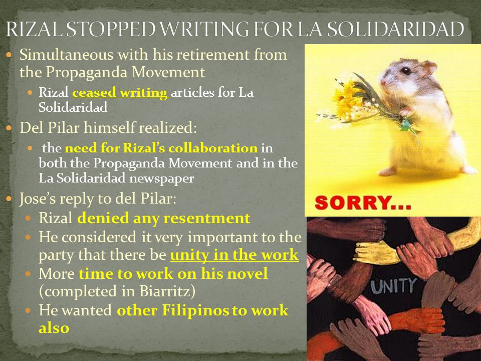 josè rizal and the propaganda movement essay We will write a custom essay sample on jose rizal essay sample for you for only $1390/page order now  jose rizal and the propaganda movement essay sample .