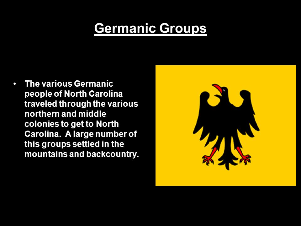 Germanic Groups