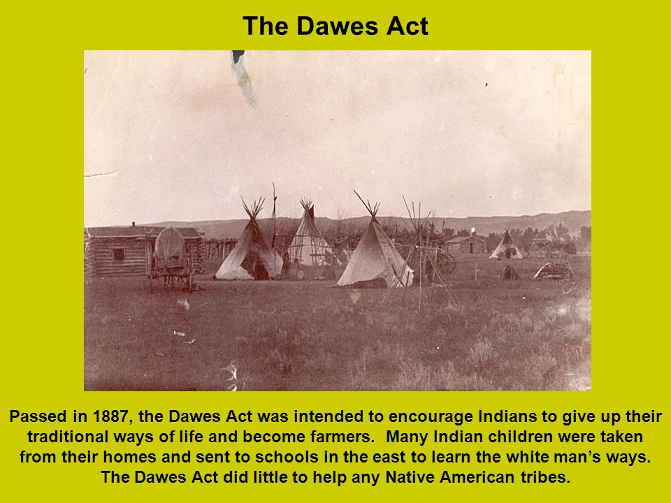 The Dawes Act