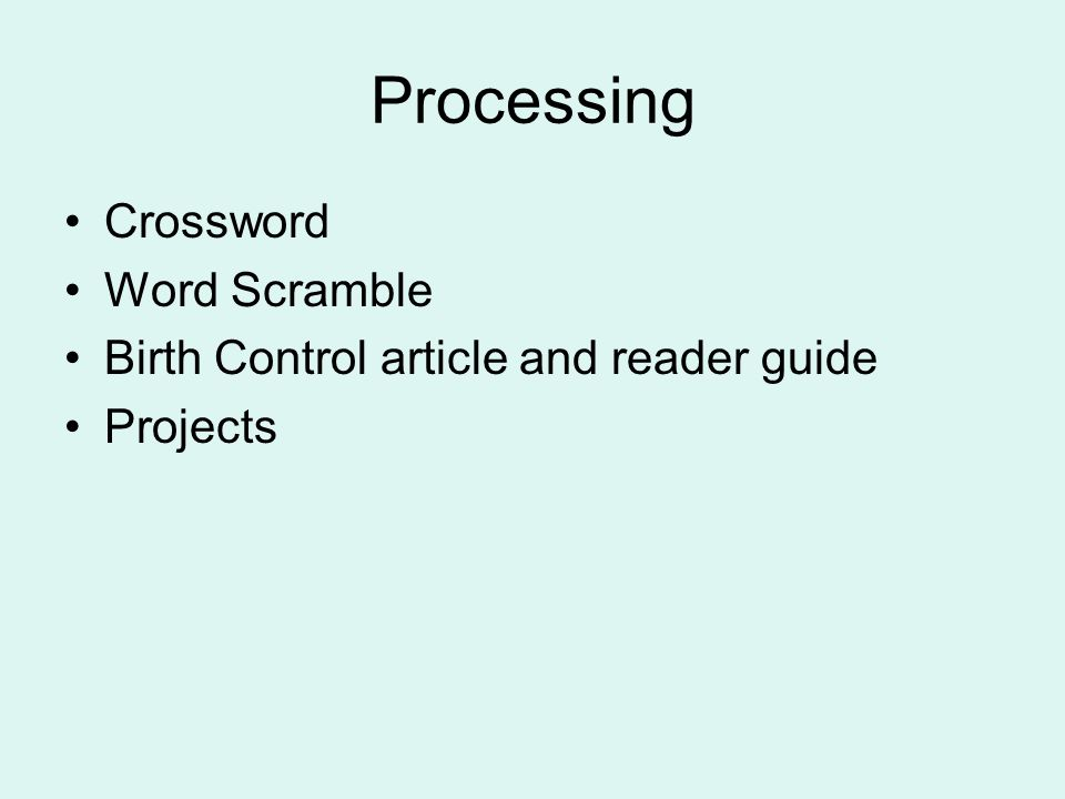 Processing Crossword Word Scramble