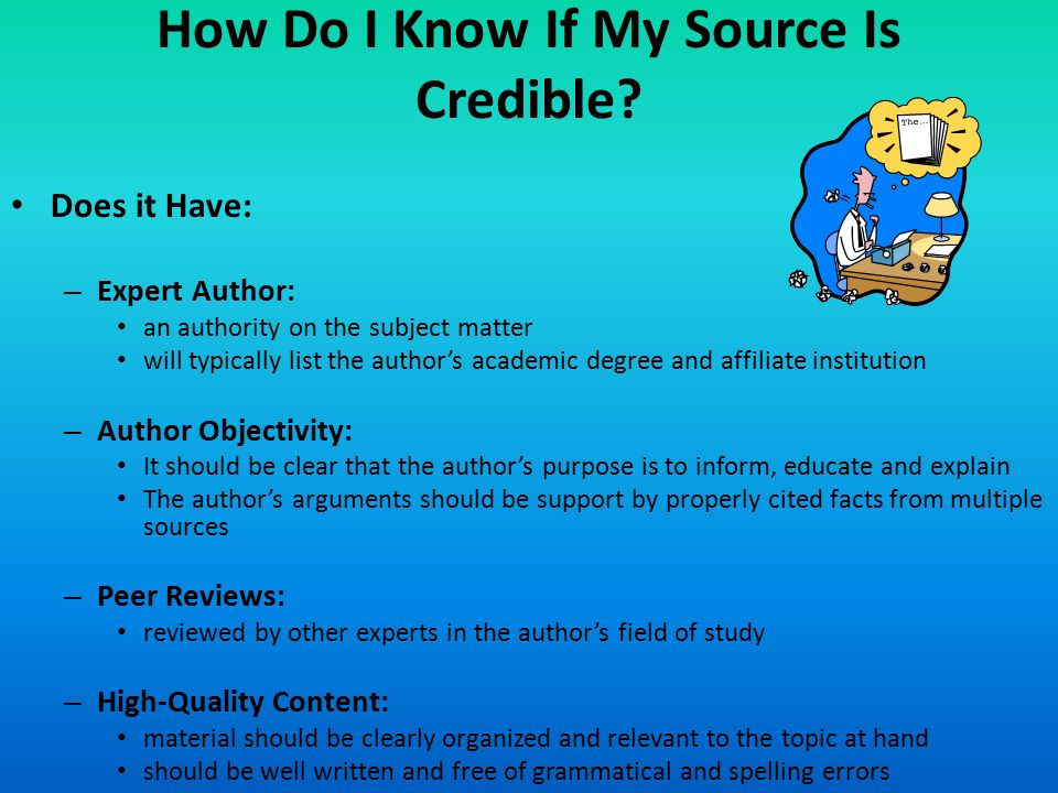 credible online sources for research papers Credible/non-credible sources moreover, there are lots of further links and references that can be useful when doing a research or writing academic papers.