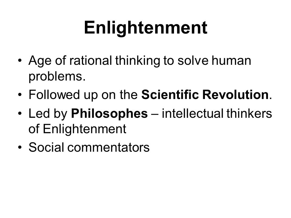 essay age enlightenment