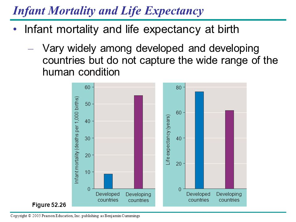Infant Mortality and Life Expectancy