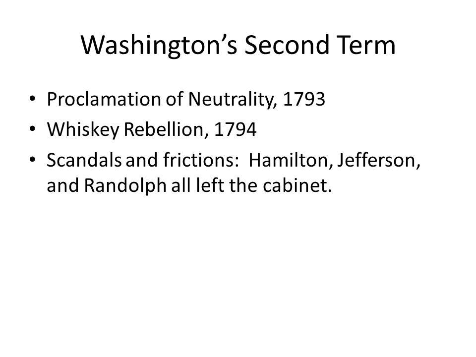 Washington's Second Term